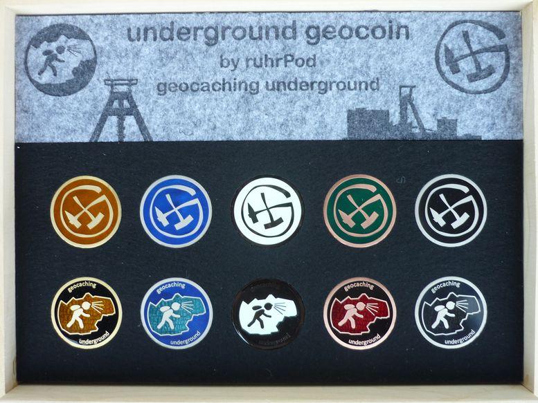 underground geocoin by ruhrPod